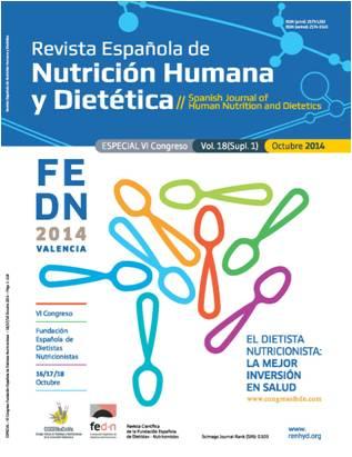 Ver Vol. 18 (2014): (Supl 1) Especial VI Congreso FEDN: El Dietista-Nutricionista, la mejor inversión en salud