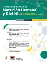 Ver Vol. 21 Núm. 1 (2017): Revista Española de Nutrición Humana y Dietética