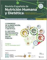 Ver Vol. 21 (2017): (Suppl 1) I Congreso de Alimentación, Nutrición y Dietética. El Dietista-Nutricionista: Pro-Motor de Salud Pública