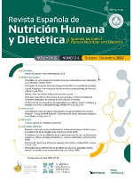 Ver Vol. 23 Núm. 1 (2019): Revista Española de Nutrición Humana y Dietética