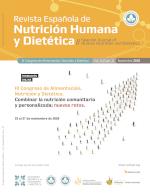 Ver Vol. 24 (2020): (Supl. 1) III Congreso de Alimentación, Nutrición y Dietética. Combinar la nutrición comunitaria y personalizada: nuevos retos