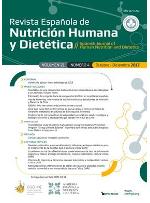 Ver Vol. 25 Núm. 2 (2021): Revista Española de Nutrición Humana y Dietética