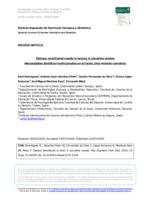 Ver Vol. 26 (2022): (Supl. 2) Nutrición en la Infancia y Adolescencia